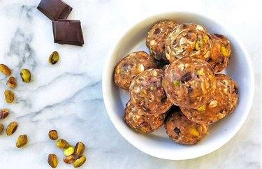 Nut Lover's Protein Balls With Sea Salt Quick Protein Balls Recipe