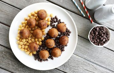 Chocolate Chip-Chickpea Protein Balls Quick Protein Balls Recipe