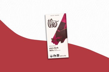 Theo Chocolate Pure Dark Chocolate Bar