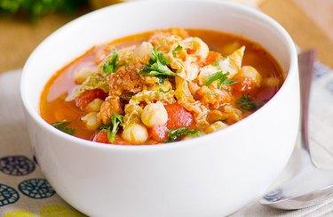 Chicken, Chickpeas and Chorizo Stew Dinner Recipes for Better Sleep