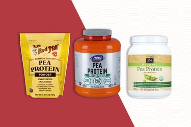 Types of pea protein