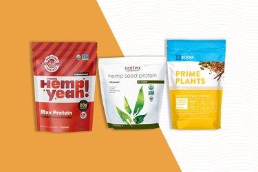 Types of hemp protein powder