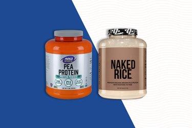 vegan protein powder  rice protein powder