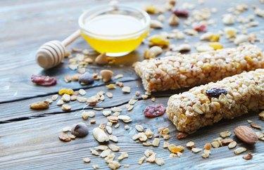 healthy snacks for low blood sugar No Bake Granola Bars
