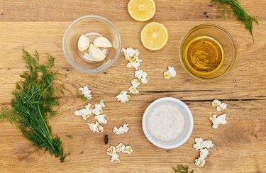 Grecian Popcorn Simple Popcorn Recipe