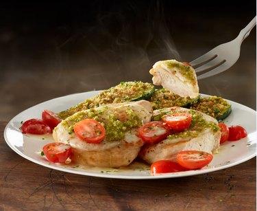 Chicken Margherita at Olive Garden.