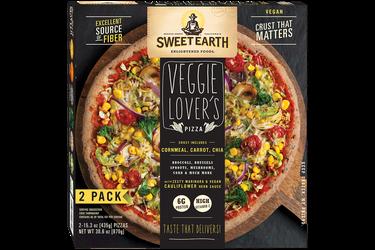Sweet Earth Foods Veggie Lover's Pizza