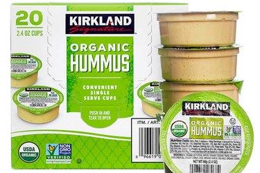 Kirkland Signature Organic Hummus Singles
