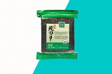 One Organic Roasted Seaweed Sheets