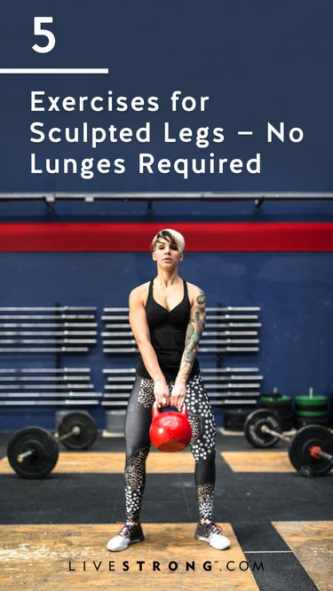 Exercises for Sculpted Legs No Lunges Required