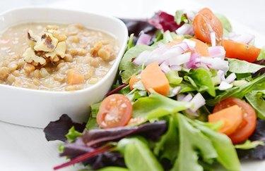 Nutty Lentil Soup Lentil Recipe