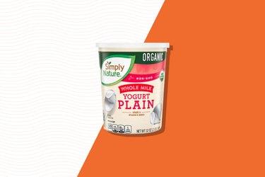 Simply Nature Organic Whole Milk Plain Yogurt