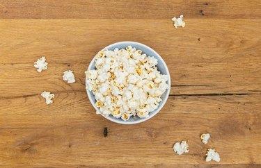 Basic Freshly Popped Popcorn Simple Popcorn Recipe