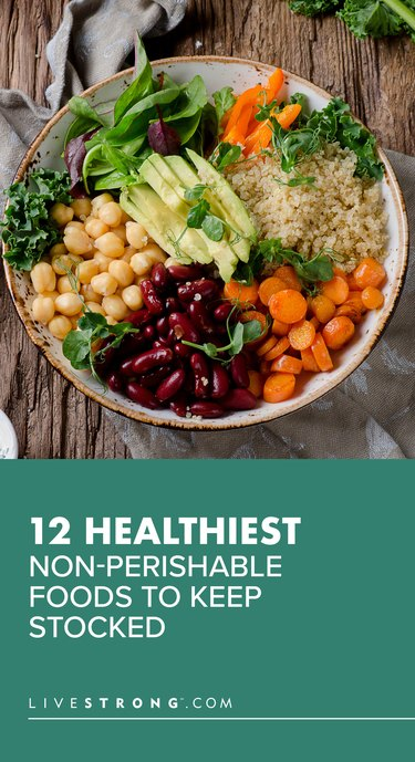 12 Healthiest Non-Perishable Foods to Keep Stocked
