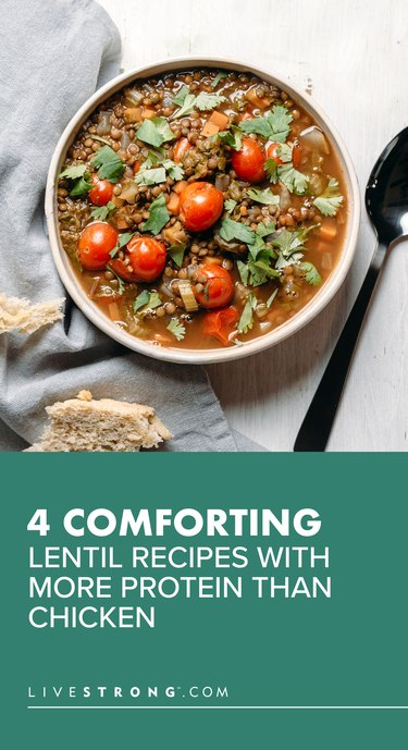 Comforting Lentil Recipes With More Protein Than Chicken