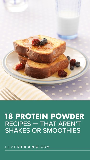 18 Protein Powder Recipes That Aren't Shakes or Smoothies