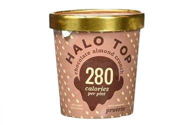 Halo Top Chocolate Almond Crunch