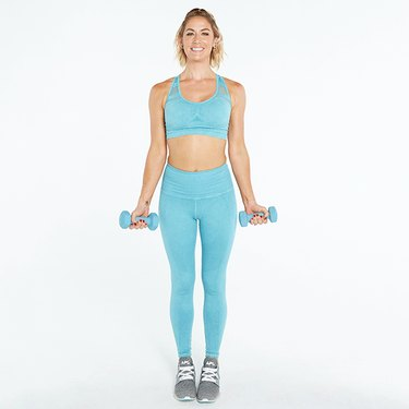 tone it up biceps curl