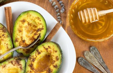 Avocado Honey Cups recipe