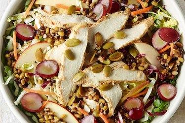 Panera Bread's Ancient Grain & Arugula Salad With Chicken