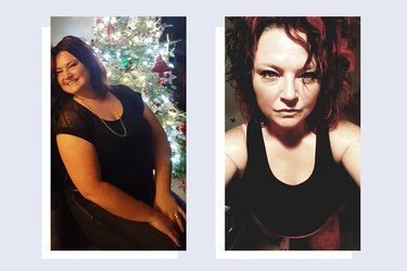 Alison Schultz before and after her weight loss transformation