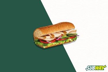 Subway Fresh Fit Choices Turkey Breast Sandwich
