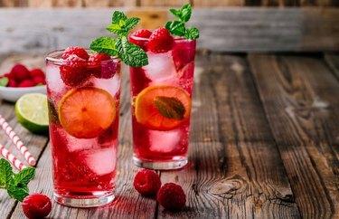 Raspberry Summer Cocktail recipe