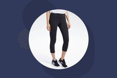 Reebok Lux 3/4 Length Leggings