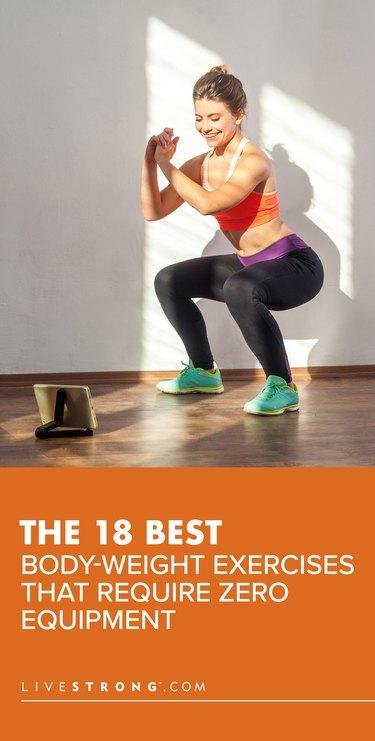 18 Best Body-Weight Exercises That Require Zero Equipment