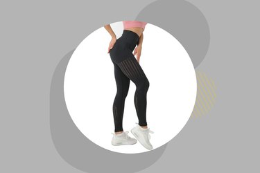 Redqenting Women's High Waist Seamless Leggings Ankle Yoga Pants Squat Proof Tights Inexpensive