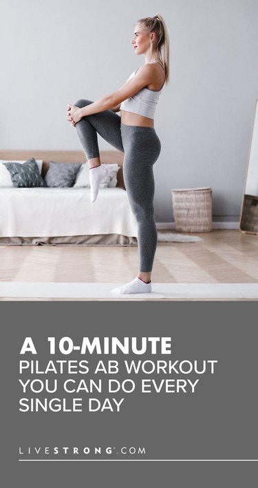 10-Minute Pilates Ab Workout You Can Do Every Single Day