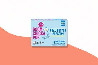 Gluten-free Boomchickapop real butter microwave popcorn
