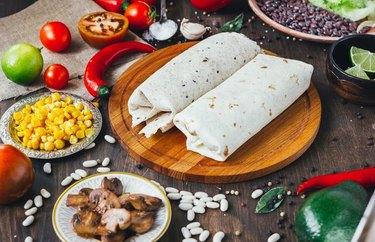 Avocado & Black Bean Burritos Plant Based Dinner Recipes