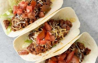 Walnut Lentil Tacos recipe