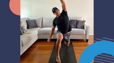 Move 1: Lunge to Overhead Reach