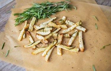 Turnip rosemary fries.