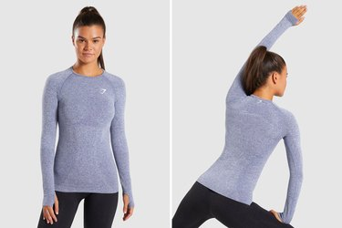 Gymshark Vital Seamless Long Sleeve T-Shirt