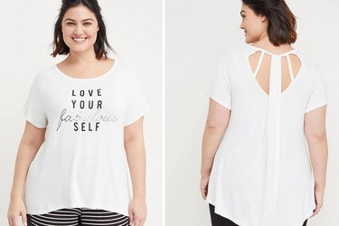Love Your fabulous self graphic tee Lane Bryant