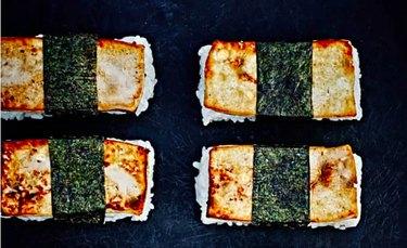 Marinated Tofu Musubi Vegan Sushi Recipe