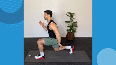 Move 3: Pendulum Lunge