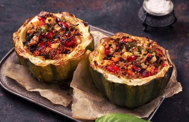 Vegetable Stuffed Acorn Squash