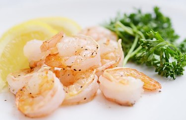Grilled Shrimp Kebab as an example of Weight Watchers dinner recipes