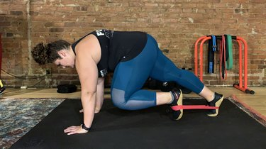 Move 2: Plank With Knee Tuck