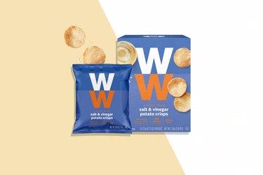 Weight Watchers snacks Salt and Vinegar Potato Crisps