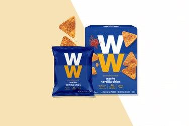 Weight Watchers snacks Nacho Tortilla Chips