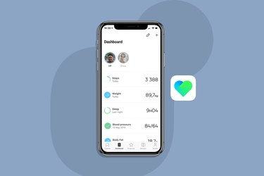 Withings Health Mate blood pressure app