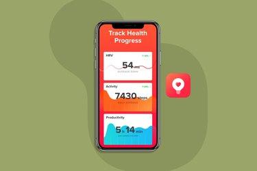 Welltory Heart Rate Monitor blood pressure app