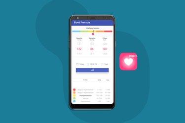 Blood Pressure Diary blood pressure app