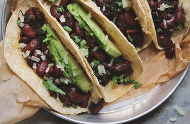 Beans and Greens Tacos recipe