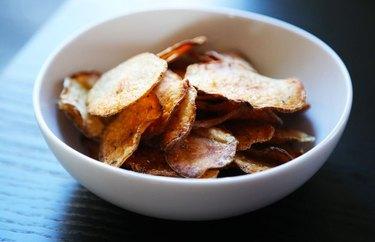 Baked Salt-and-Vinegar Chips recipe